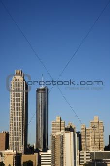 Skyscrapers in Downtown Atlanta