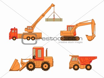 Construction cars | Set 1