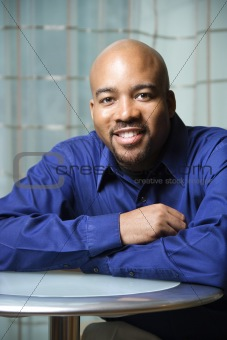 Portrait of Smiling African-American Man