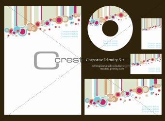 Business stationery set