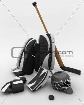ice hockey goalie equipment