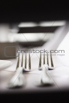 Forks on Table