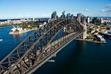 Aerial Shot of Syndney Harbor Bridge
