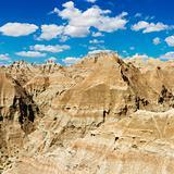 Mountains in the South Dakota Badlands