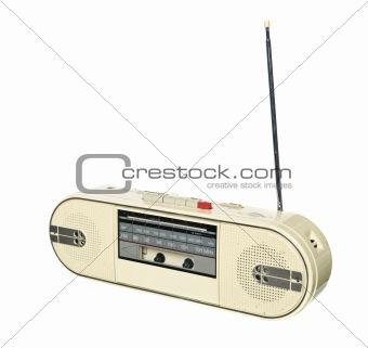 1980s style radio