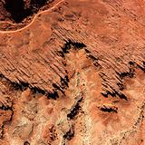 Rock Formations From Overhead
