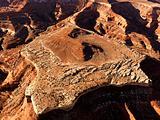 Mesa in Desert
