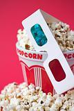 3D glasses & a bucket of popcorn