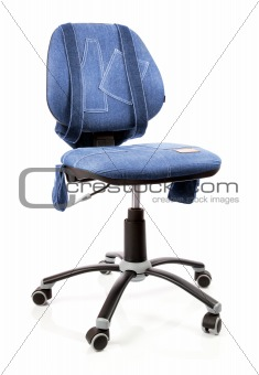 blue jeans office revolving chair