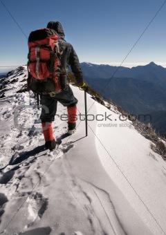 alone climber