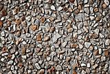 Cement gravel texture