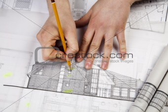Architect Working
