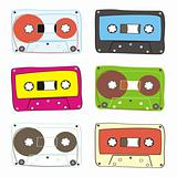 vector audio cassette