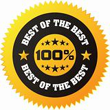 Vector &quot;Best of the Best&quot; Badge