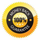 Badge &quot;Money Back Guarantee&quot;