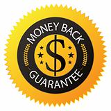 "Badge ""Money Back Guarantee"""