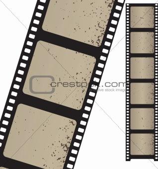 Vector filmstrip.