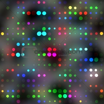 bright colorful dots