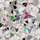light slate mosaic path