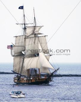 Niagara tall ship on Lake Ontario