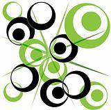 Retro Circle design