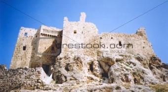 assasins fortress ruins syria