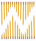 Rows of Pencils