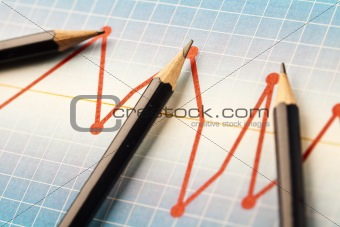 Chart and Pencil