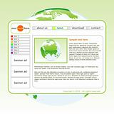 vector template web site
