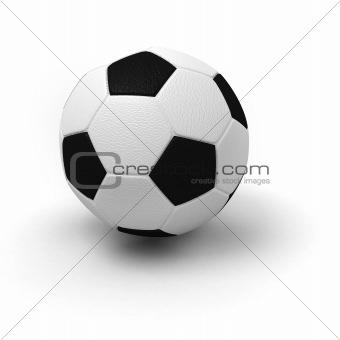 Single soccer ball