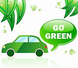 Go Green Ecology Car