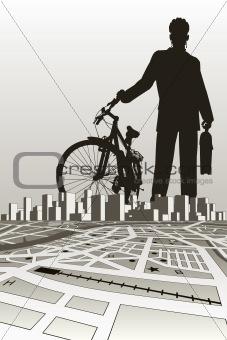 City biker