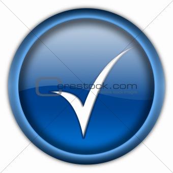 Tick button
