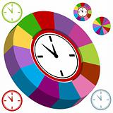 Business Clock Chart