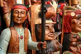 Carved indians