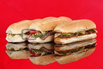 3 popular sandwiches