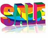 Multicolored Sale