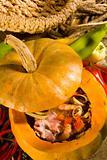 Soup in pumpkin