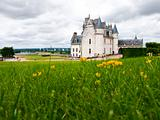 Amboise Castle in Loire Valley