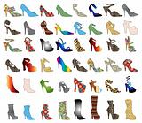 Shoe Silhouettes 3