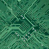 Circuit board electronic square texture