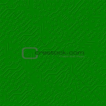 Circuit board electronic texture