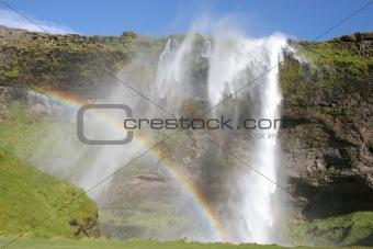 Waterfall Seljalandsfoss