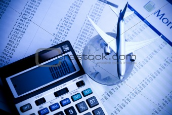 Airplane in finance and world