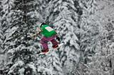 snowboard jump