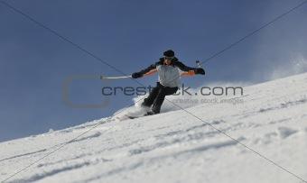 skier free ride