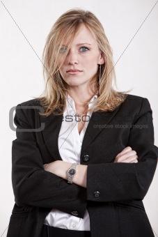 Attractive twenties blonde caucasian woman