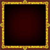 Golden frame square