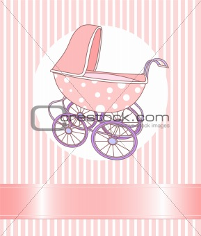 Baby Girl Carriage