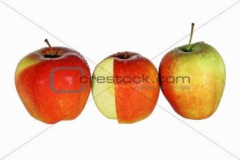 Three Apples in Drops